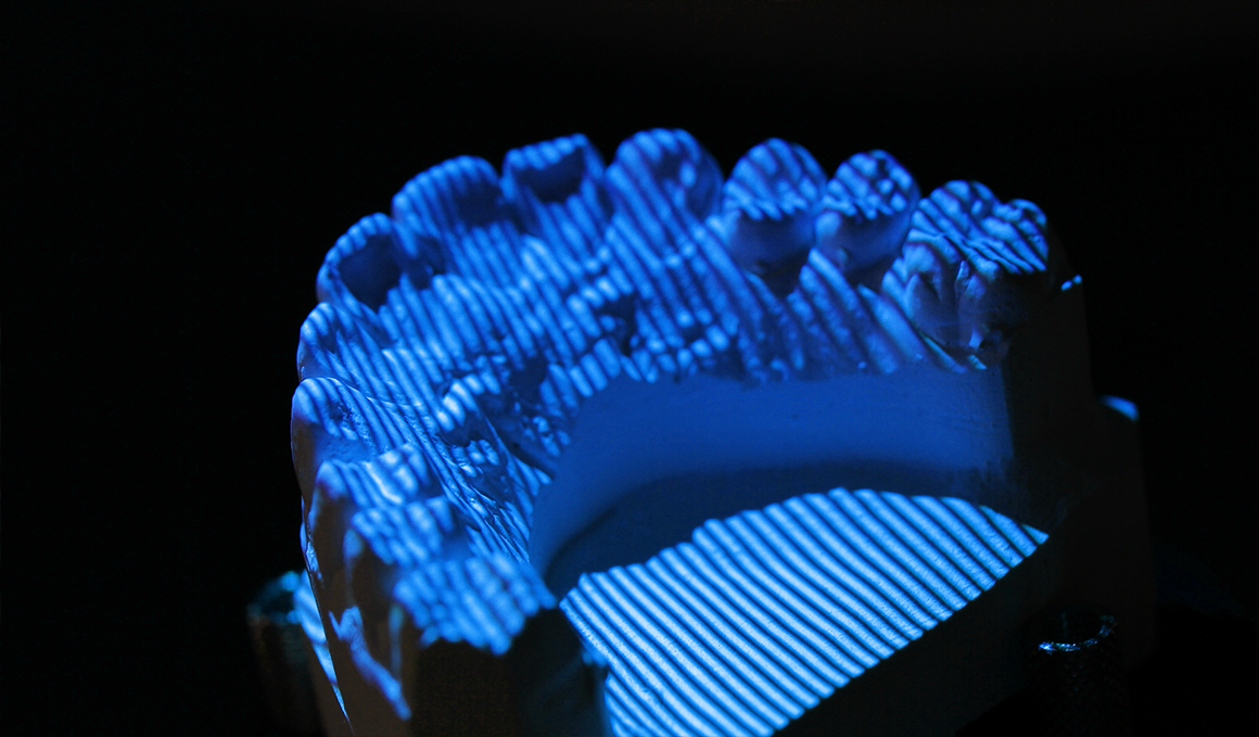 Why using blue light 3D Scanner